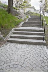 Steps on Skeppsholmen Island; Stockholm