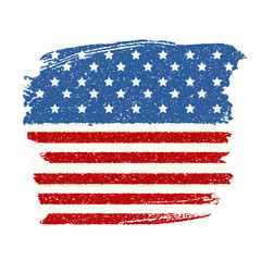 Fourth of July, Independence day of the United States. Happy Bir