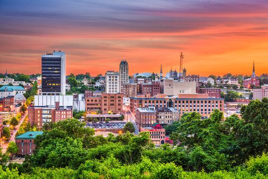 Lynchburg, Virginia, USA Skyline.