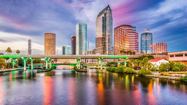 Tampa, Florida, USA Skyline.