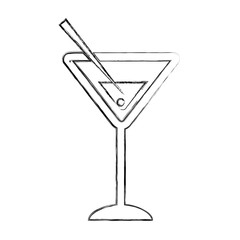 margarita cocktail cup icon vector illustration design