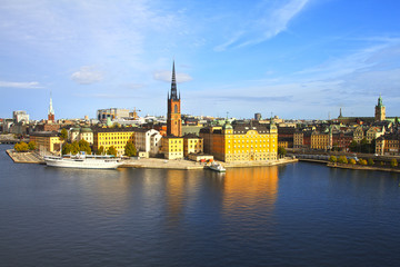 Old town in Stockholm, Sweden, Scandinavia