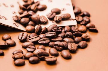 coffee beans, Roasted coffee