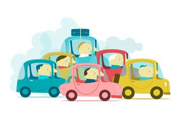 Traffico nell'ora di punta