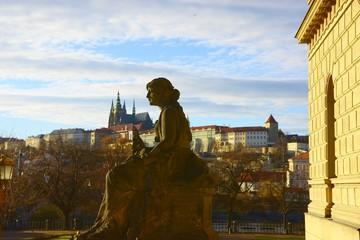 Foto op Canvas Verenigde Staten Prague castle