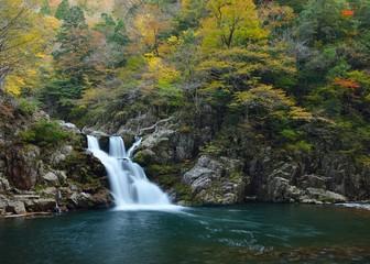 秋の三段峡