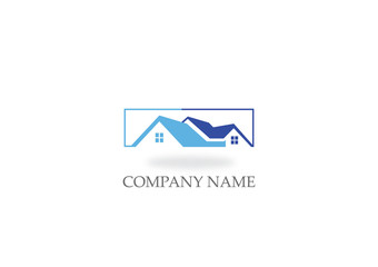 house realty roof business logo