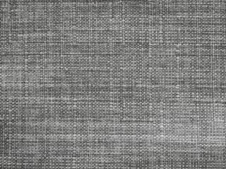 Grey cotton fabric texture background, closeup.