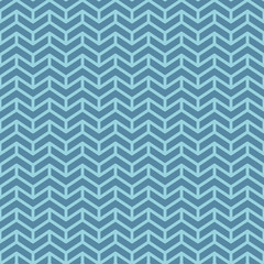 Chevron pattern. Blue geometric seamless patterns for web design.