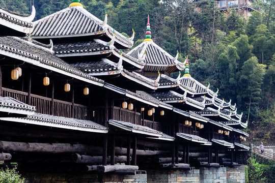Chengyang Wind and Rain Bridge (Fengyu Bridge)