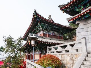 pagoda of Xiangshan Temple on East Hill in Longmen