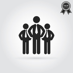 Business people icon.