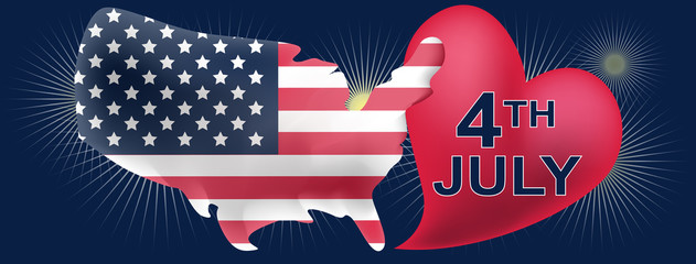 American independece day FB cover