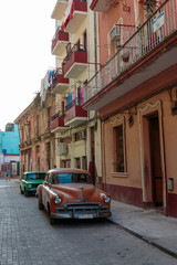 Oldtimer in Havanna, Kuba