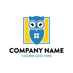 Unique Owl Logo Template