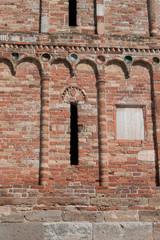 Pomposa Abbey. Ravenna. Walk in ancient art