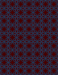 blue and brown pattern