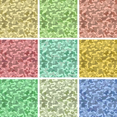 Camo seamless patterns