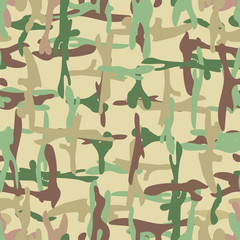 Camo seamless pattern