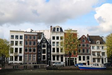 Fachadas de Amsterdam