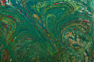 colorful abstract texture of paint