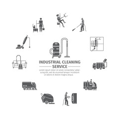 Industrial Cleaning Service.