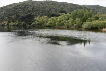 Embalse de San Juan. San Martín de Valdeiglesias, Comunidad de Madrid. España.
