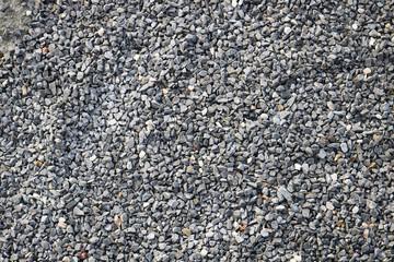 Steine Kies grau Hintergrund Gehweg