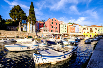 harbor of veli losinj