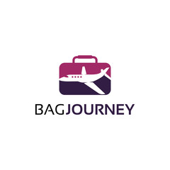 Bag Journey Logo Template Design