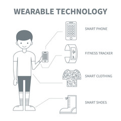 Wearable technology for sport and activities