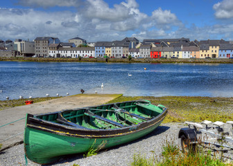The Claddagh Galway in Galway, Ireland.