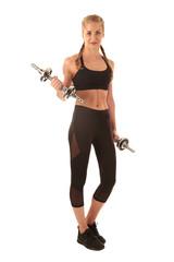 Sportmode boxer braids und Stretchkleidung