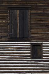 Barn Doors and Window