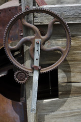 Old Farm Machinery Parts