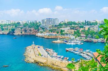 The coast of Antalya