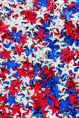 USA red, white and blue stars background