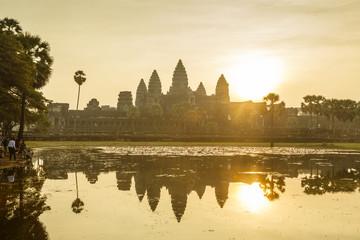 Angkor Wat temple, Angkor, Cambodia.