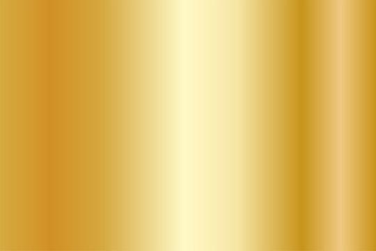 Realistic gold texture. Shiny metal foil gradient. Vector illustration