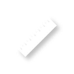 Icon mit Schatten - Lineal