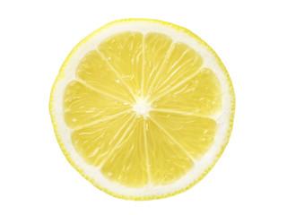 lemon slice isolated