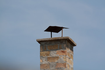 Chimney with cap