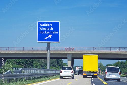Staumeldung A5 Richtung Frankfurt