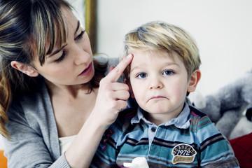 Child with hematoma