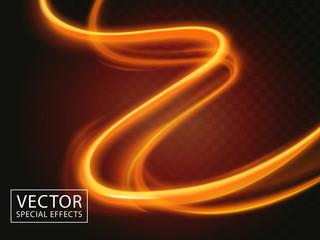 Fototapeta light streaks effect obraz