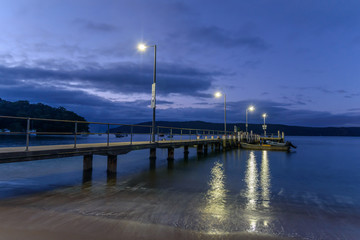 Patonga Beach at Daybreak