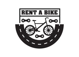 Bike badge vintage style