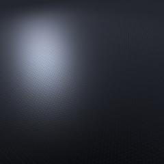 Abstrakte Darstellung von Waben - Graublau