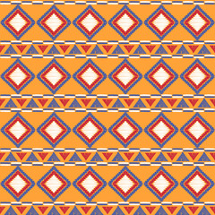 Tribal pattern vector seamless. African print. Basket background for ethnic fabric, wallpaper, wrapping paper and boho card template.