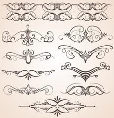 Decorative vintage elements